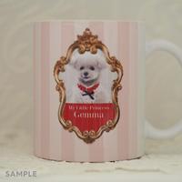 """うちのこの写真で作る!オリジナルマグカップ""""Lovely Mug""""  デザインタイプ:  Gemma(ジェマ)"""