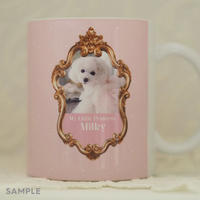 """うちのこの写真で作る!オリジナルマグカップ""""Lovely Mug""""  デザインタイプ: Milky(ミルキー)"""