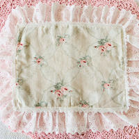 【Cafe Mat】 petit bouquet fabric Cafe mat(プチブーケファブリックカフェマット)