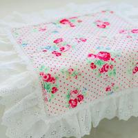 """""""在庫限り終了""""【Cafe Mat】 Lovely Flower fabric Cafe mat(ラブリーフラワーファブリックカフェマット)"""