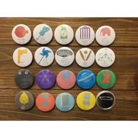 新しい韓国の文学シリーズ缶バッジ