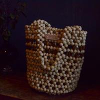 Abaca // Rosario Wood Bag