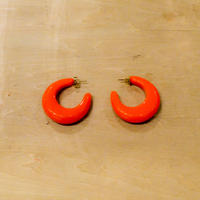 VALET STUDIO //  VIVIAN EARRINGS IN ORANGE