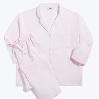 SLEEPY JONES / Marina Pajama Set End on End Pale Pink