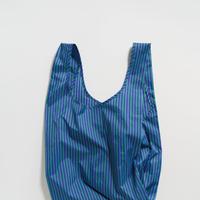 BAGGU / Standard Baggu Cobalt and Jade Stripe