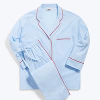 SLEEPY JONES / Marina Pajama Set End on End Blue