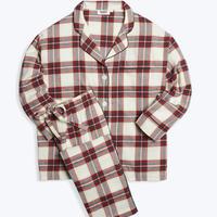 SLEEPY JONES / Marina Pajama Set Gift Wrap Flannel