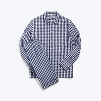 SLEEPY JONES // Henry Pajama Set Navy Gingham