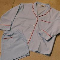 SLEEPY JONES // Marina Pajama Set End on End Blue
