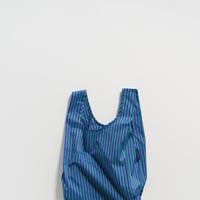 BAGGU / Baby Baggu Cobalt and Jade Stripe