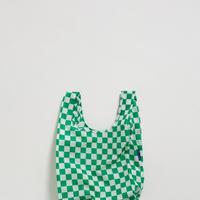 BAGGU // Baby Baggu Green Checkerboard