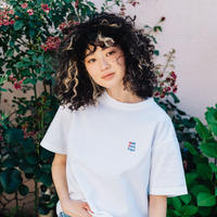 she said that + THE MOTT HOUSE TOKYO T-shirt White