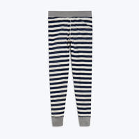 SLEEPY JONES // Helen Legging Navy Slub Stripe