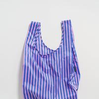 BAGGU / Standard Baggu Pink and Blue Stripe