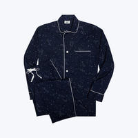 SLEEPY JONES // Lowell Pajama Set Constellation Navy