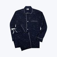 SLEEPY JONES // Lowell Pajama Set Constellation Navy