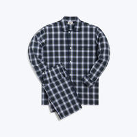SLEEPY JONES // Lowell Pajama Set Stewart Plaid