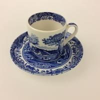 【スポード】ブルーイタリアン   コーヒーカップ&ソーサー