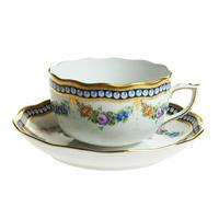 ヘレンド (HEREND) GPN 真珠の首飾り ティーカップ&ソーサー 20724