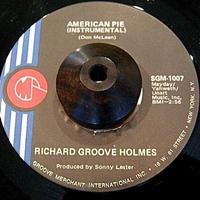 JAZZ FUNK45*RICHARD GROOVE HOLMES / AMERICAN PIE