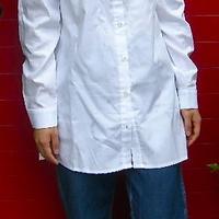 ダブルカラーのシャツ、チュニック