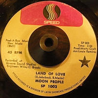 Latin Soul45 MOON PEOPLE / LAND OF LOVE