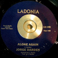 JAZZ FUNK 45 JORGE DARDEN / ALONE AGAIN
