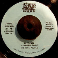 THE NICE PEOPLE / CAFE-CAFE