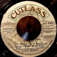FLOYD MORRIS / I DON'T WANT TO BE RIGHT