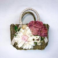 Flower Bag Gold M     【Rabbit】