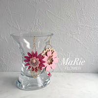 Flower accessory 【ピンク】