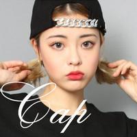 ファッション チェーン 刺繍 キャップ/野球帽