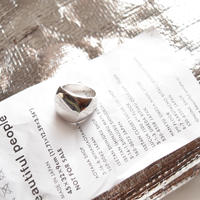 Oval Satin Ring