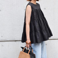 [ RE-ARRIVAL]フェアリーコットンノースリーブBlouse