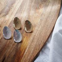 Spoon Mat Earrings