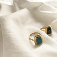 Stone Square Ring