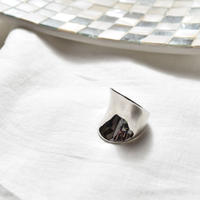 [ NEW ]Curve Plate Ring