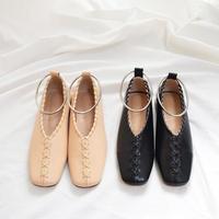 【予約1月下旬入荷予定】Ring Flat Shoes