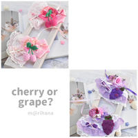 【限定】cherry or grape? choker