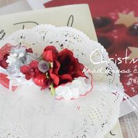【再販】クリスマスヘッドドレス風アクセサリー