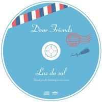 "【CD】粟田麻利子×望月雄史DUO「Luz do sol」 ""Dear Friends"""