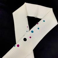 12-138 夏 刺繍半衿