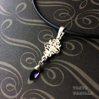 MYSTERIOUS violet - Iolite - アイオライトのSILVERネックレス -