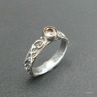 Marie ring - orenge spinel