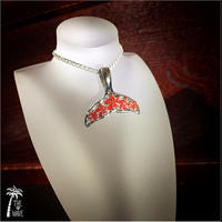 Lucky tail - Hawaiian Jewelry - Red