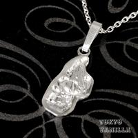 """イニシャル """"A"""" Hawaiian Jewelry Silverネックレス"""