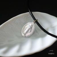 フランス奇跡のメダイのネックレス - silver