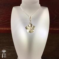 Plumeria -Hawaiian Jewelry Silver -