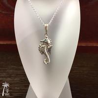 Seahorse - silver -
