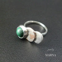 ZEBRA - ring malachite